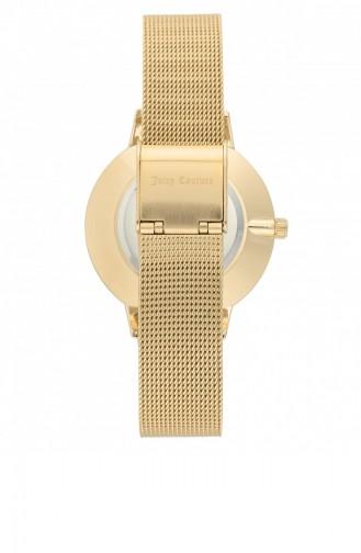 Golden Yellow Watch 1124WTGB