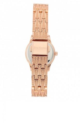 Rose Tan Wrist Watch 1144MTRG