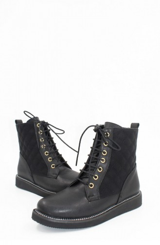 Black Boots-booties 00328.SIYAH