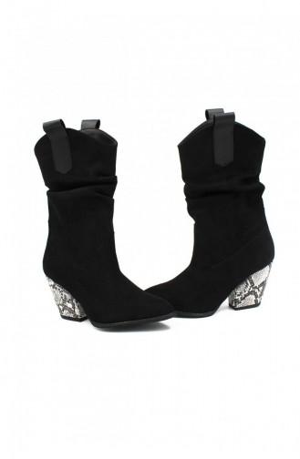 Black Boots-booties 00202.SIYAHSUET