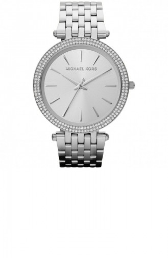 Silver Gray Wrist Watch 3190