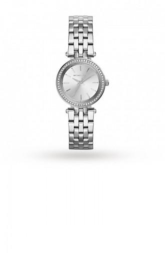Silver Gray Wrist Watch 3294