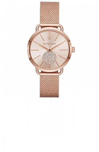 Rosa Haut Uhren 3845