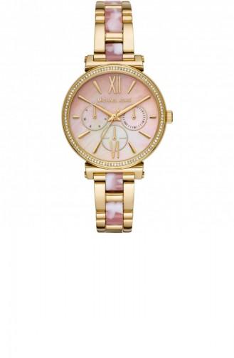 Gold Wrist Watch 4344