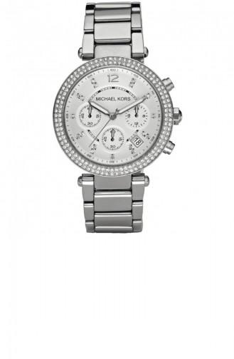 Silver Gray Watch 5353