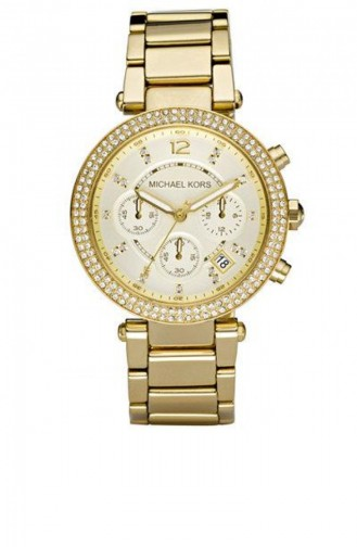 Gold Wrist Watch 5354