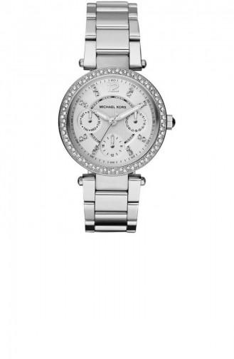 Silver Gray Wrist Watch 5615