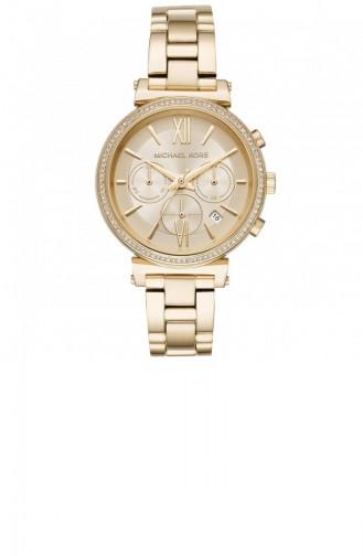 Golden Yellow Watch 6559