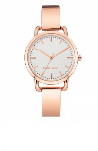 Rose Tan Wrist Watch 2214SVRG