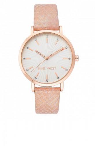Rose Tan Wrist Watch 2382RGPK