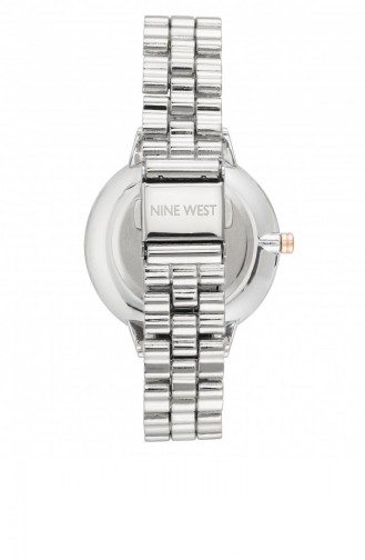 Silver Gray Wrist Watch 2399GYRT