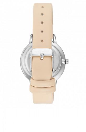 Beige Wrist Watch 2485LVIV