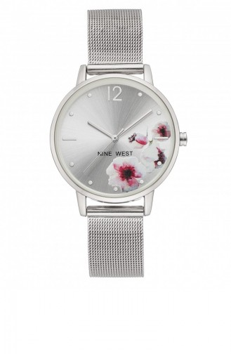 Silver Gray Wrist Watch 2505FLSV