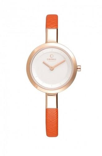Orange Wrist Watch 129LXVIRO