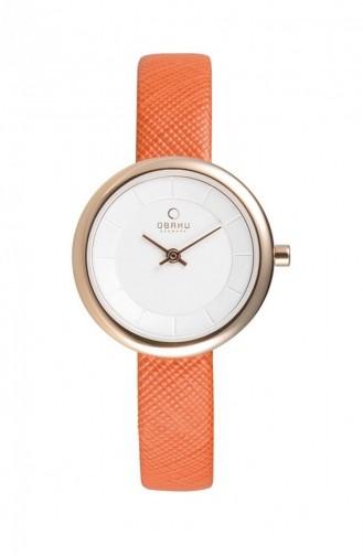 Orange Wrist Watch 146LXVIRO
