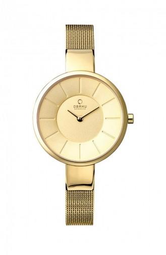 Gold Wrist Watch 149LGGMG
