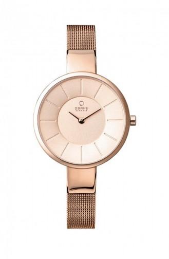 Rose Tan Wrist Watch 149LVVMV