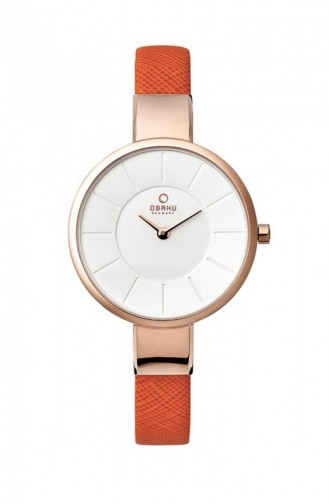 Orange Wrist Watch 149LXVIRO