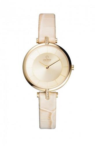 Beige Horloge 168LEGGRX