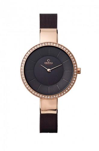 Black Wrist Watch 179LEVNMN