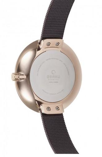 Brown Wrist Watch 185LXVNMN
