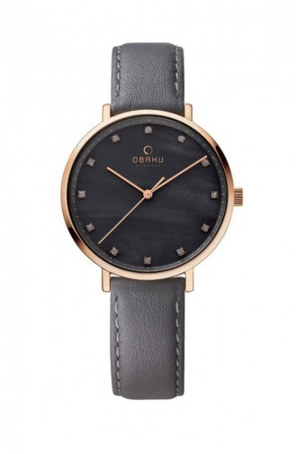 Gray Wrist Watch 186LXVJRJ