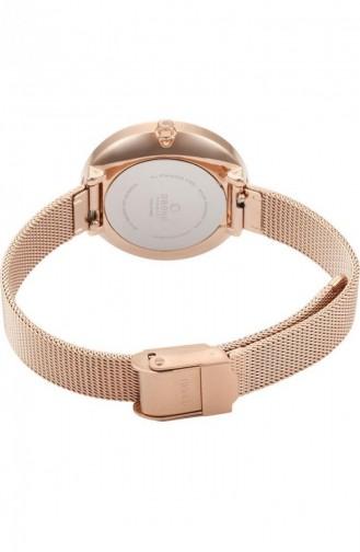 Rose Tan Wrist Watch 195LXVIMV