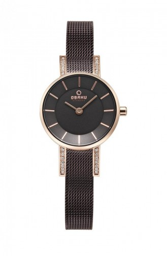 Brown Wrist Watch 207LEVNMN
