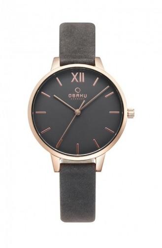 Smoke-Colored Wrist Watch 209LXVJRJ