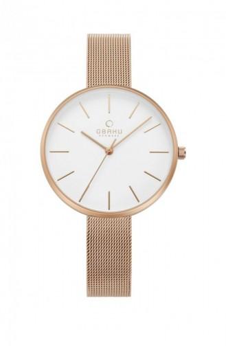Rose Tan Wrist Watch 211LXVIMV
