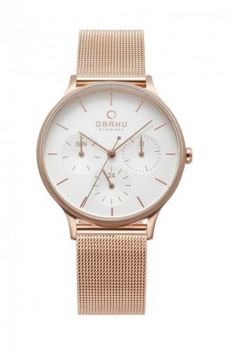 Rose Tan Wrist Watch 212LMVIMV