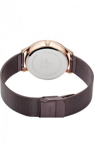 Brown Wrist Watch 212LMVNMN