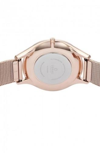 Rose Tan Wrist Watch 217LXVWMV