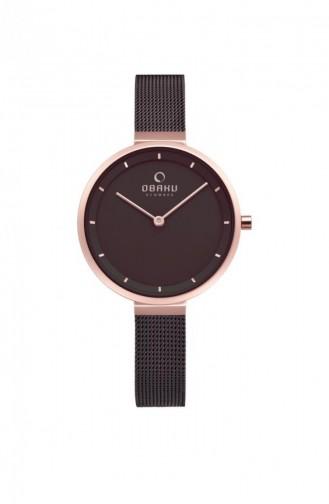 Brown Wrist Watch 225LXVNMN