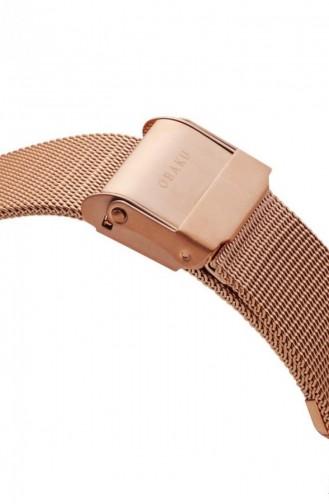 Rose Tan Wrist Watch 236LXVIMV