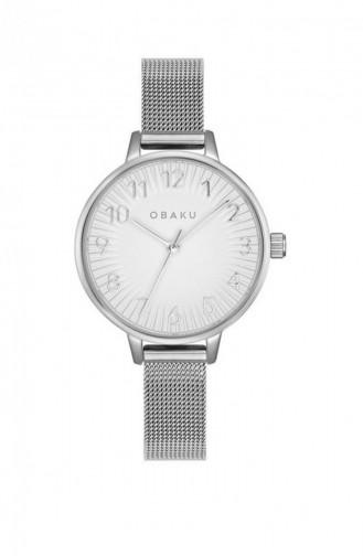 Silver Gray Wrist Watch 237LXCIMC