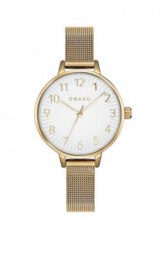 Golden Yellow Watch 237LXGIMG