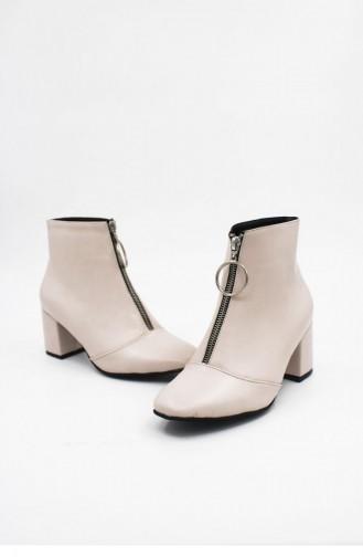 Beige Boots-booties 00189.NUDECILT