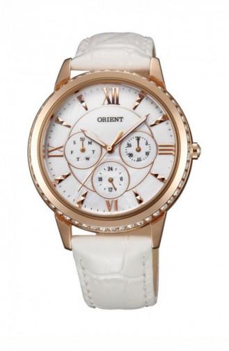 White Wrist Watch 03002W0