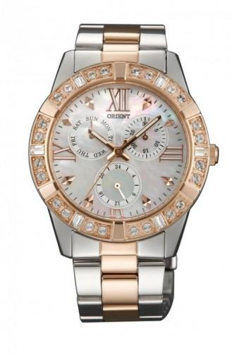 Silver Gray Wrist Watch 0B002W0