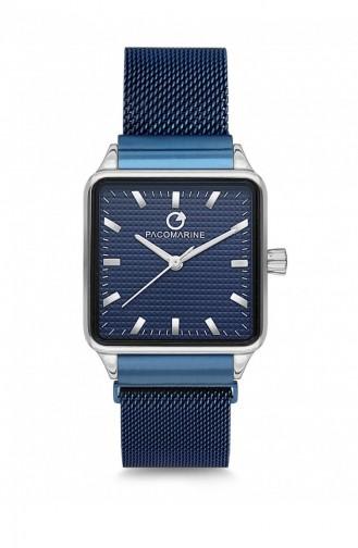 Navy Blue Wrist Watch 16006.06