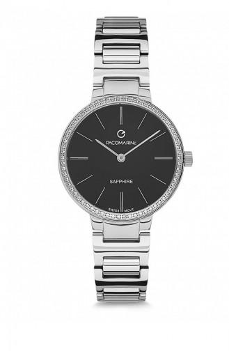 Silver Gray Wrist Watch 19002.10