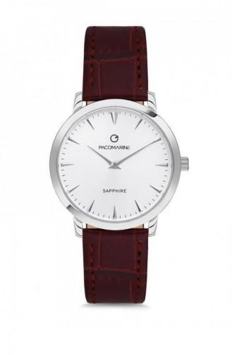 Claret Red Wrist Watch 19004.06
