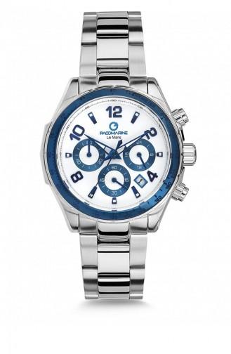 Silver Gray Wrist Watch 51082.09