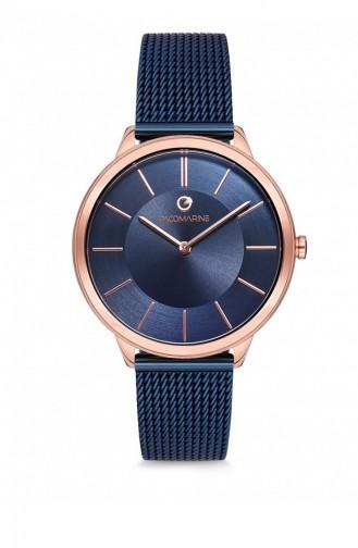 Navy Blue Wrist Watch 51203.06
