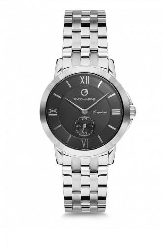 Silver Gray Wrist Watch 61127.02