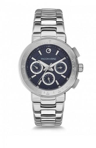 Silver Gray Wrist Watch 61131.02