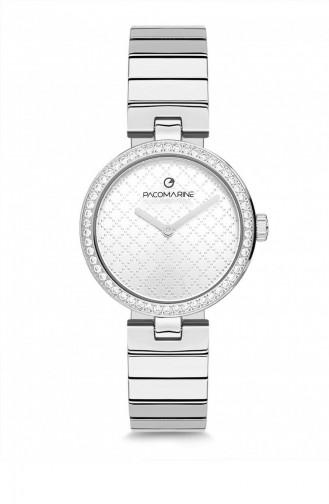 Silver Gray Wrist Watch 61150.06