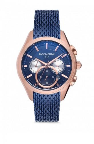 Navy Blue Wrist Watch 88002.02