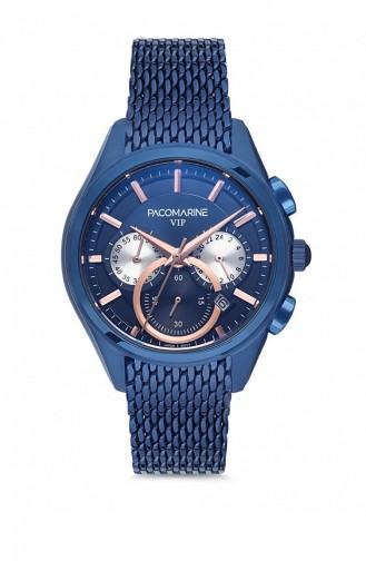 Navy Blue Wrist Watch 88002.03